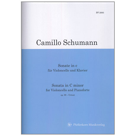 Schumann, C.: Sonate in c-Moll Op.99