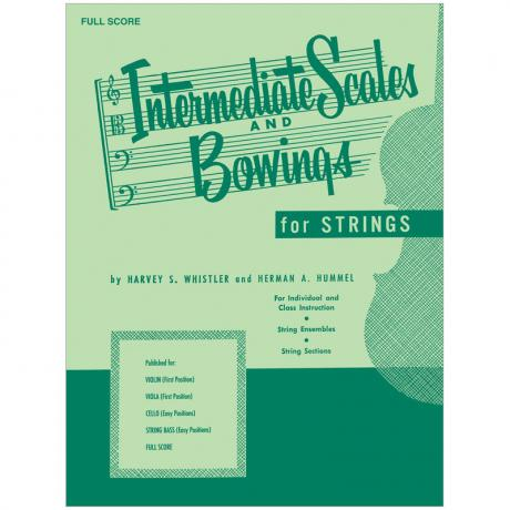 Whistler, H. S.: Intermediate Scales And Bowings – Full Score