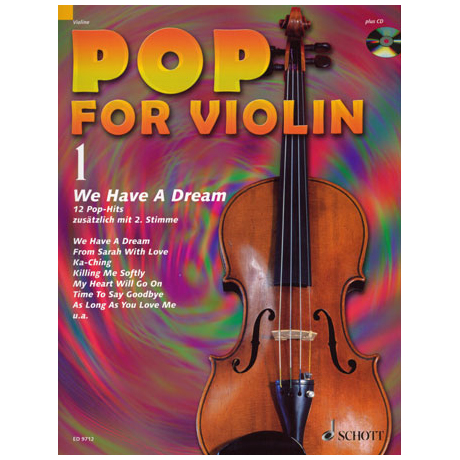 Pop For Violin Vol. 1 (+CD)