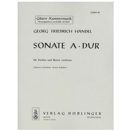 Händel, G.F.: Sonate A-Dur Op.1/3