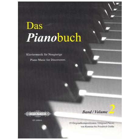 Das Pianobuch Band II – mittelschwer bis schwer