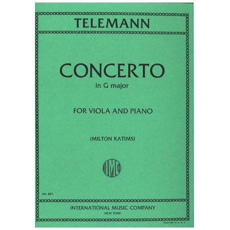 Telemann, G.Ph.: Violakonzert G-Dur