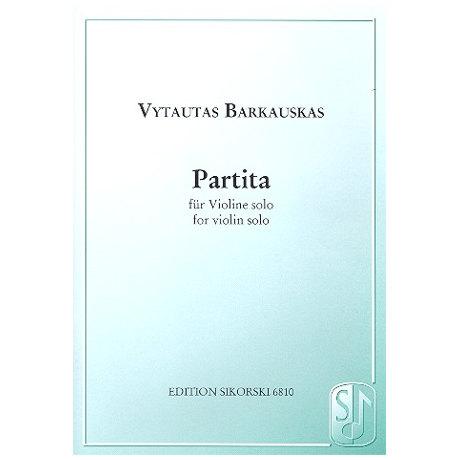 Barkauskas, V.: Partita