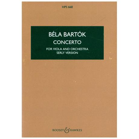 Bartók, B.: Konzert, op. posth.