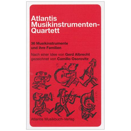 Atlantis Musikinstrumenten-Quartett (Osorovitz)