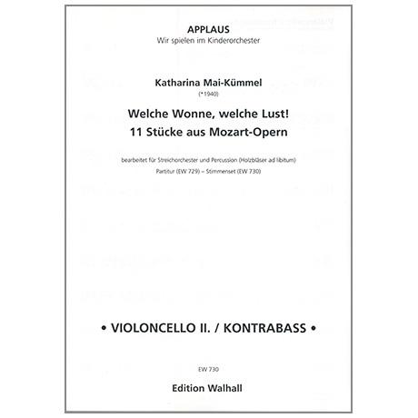 Mai-Kümmel, K.: Welche Wonne, welche Lust! – Stimmen