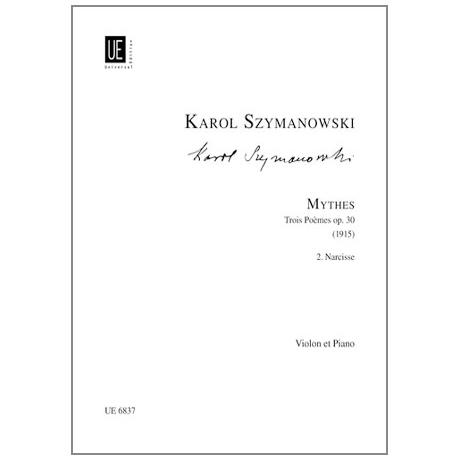 Szymanowski, K.: Mythes Op. 30/2 — Narcisses