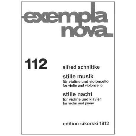 Schnittke, A.: Stille Musik / Stille Nacht