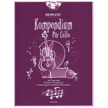 Kompendium für Cello - Band 2 (+CD)