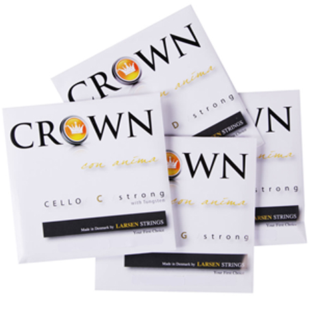 CROWN Strings by LARSEN Cellosaiten SATZ