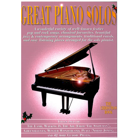 Great Piano Solos: The Christmas Book