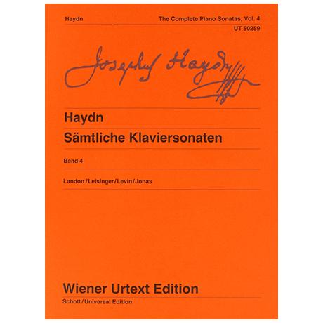 Haydn, J.: Sämtliche Klaviersonaten Band 4