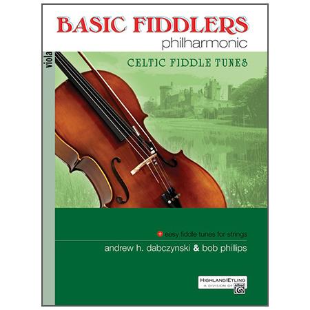 Dabczynski, A. H./Phillips, B.: Basic Fiddlers Philharmonic – Celtic Fiddle Tunes Viola