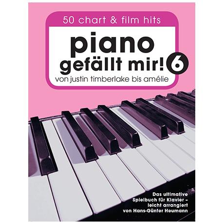 Heumann, H.-G.: Piano gefällt mir! 50 Chart und Filmhits Band 6