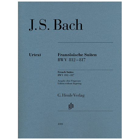 Bach, J. S.: Französische Suiten BWV 812-817