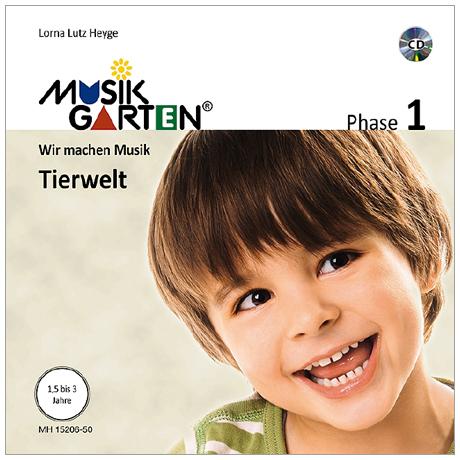 Heyge, L. L.: Musikgarten 1 – Tierwelt – Liederheft (+CD)