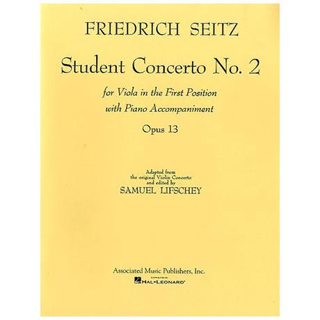 Seitz, F.: Schülerkonzert Nr.2 Op.13