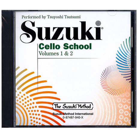Suzuki Cello School Vol. 1 & 2 – CD