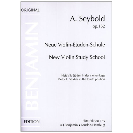 Seybold, A.: Neue Violin-Etüden-Schule Band 7