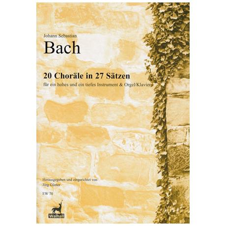 Bach, J. S.: 20 Choräle in 27 Sätzen