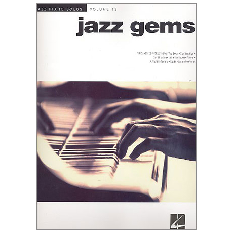 Jazz Piano Solos – Jazz Gems
