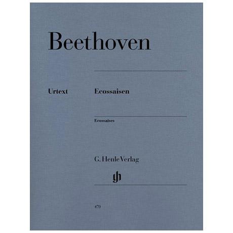Beethoven, L. v.: Eccossaisen WoO 83 und 86
