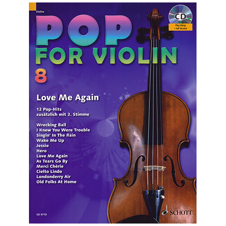 Pop for Violin Vol. 8 (+CD)