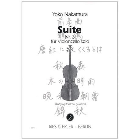 Nakamura, Y.: Cello-Suite Nr. 3