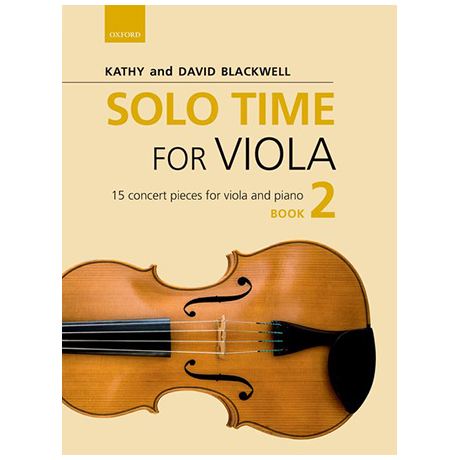 Blackwell, K. & D.: Solo Time for Viola Book 2