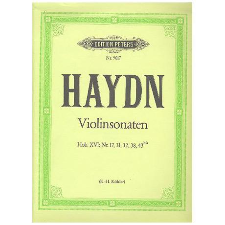 Haydn, J.: Sonaten Hob. XV:17, XV:31, XV:32, XV:38, XVI:42