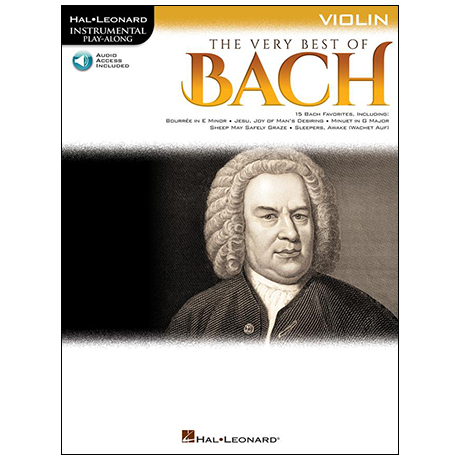 Bach, J. S.: The Very Best of Bach for Violin (+Online Audio)