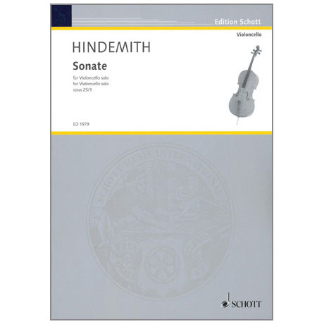 Hindemith, P.: Violasonate Op. 25/3