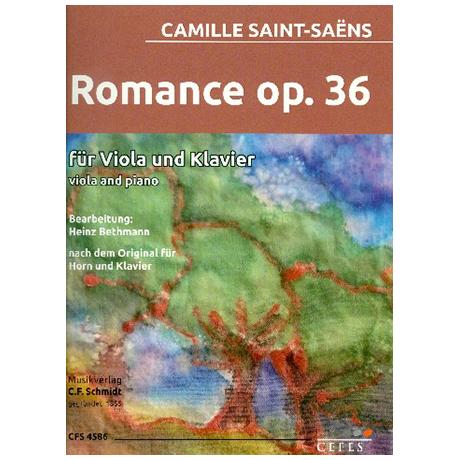 Saint-Saëns, C.: Romance Op. 36