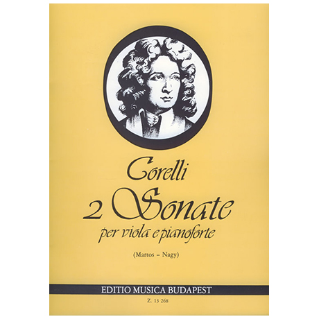 Corelli, A.: 2 Violasonaten Op. 5/7 und Op. 5/8