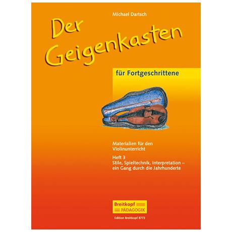 Dartsch, M.: Der Geigenkasten Heft 3