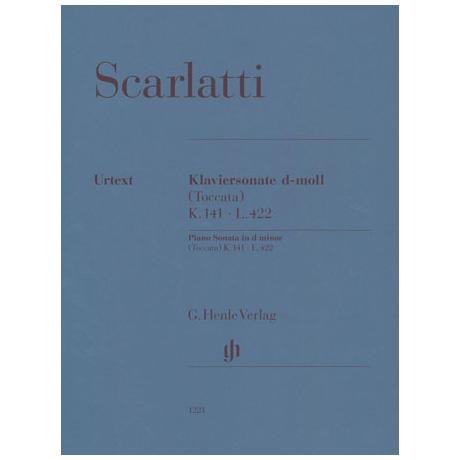 Scarlatti, D.: Klaviersonate (Toccata) d-Moll K.141