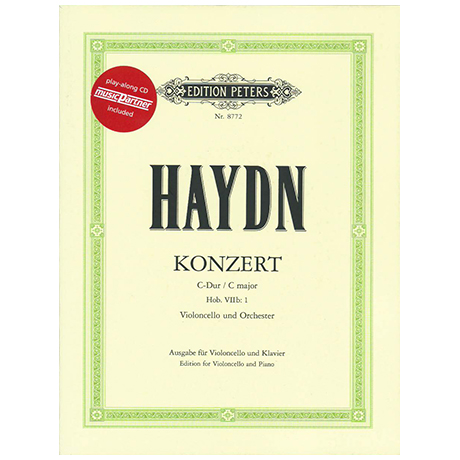 Haydn, J.: Violoncellokonzert Hob: VIIb: 1 C-Dur (+CD)