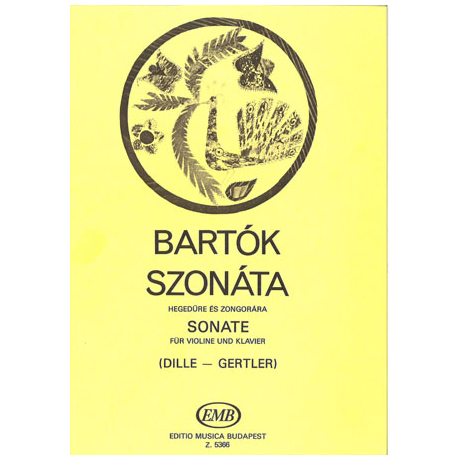 Bartók, B.: Sonate (1903)