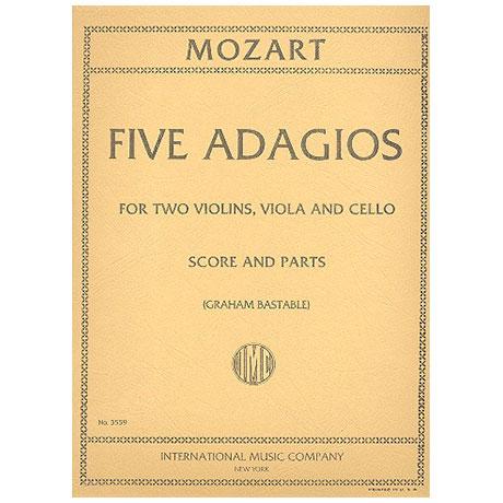 Mozart, W.A.: Fünf Adagios