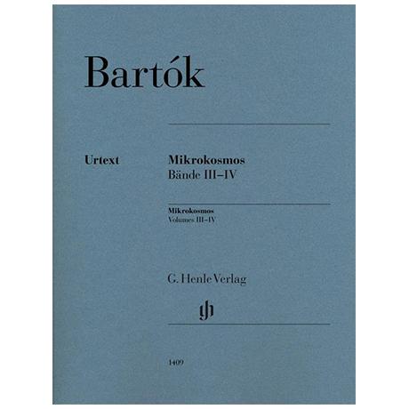 Bartók, B.: Mikrokosmos Bände III-IV