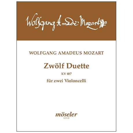 Mozart, W. A.: 12 Duos KV 487 (496a) »Kegelduette«