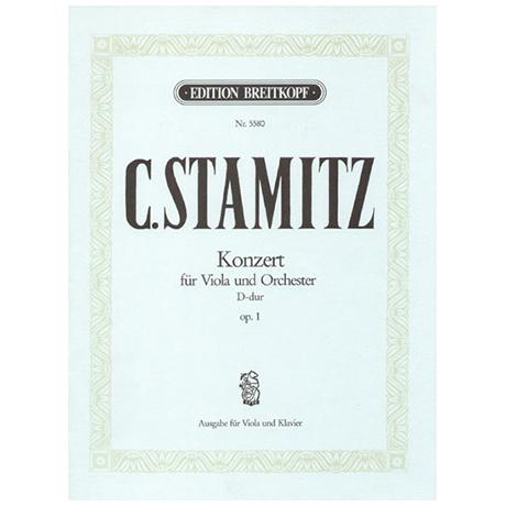 Stamitz, K.: Violakonzert Op. 1 D-Dur