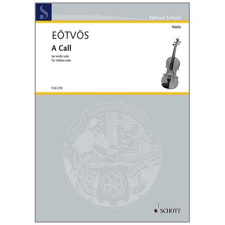 Eötvös, P.: A Call
