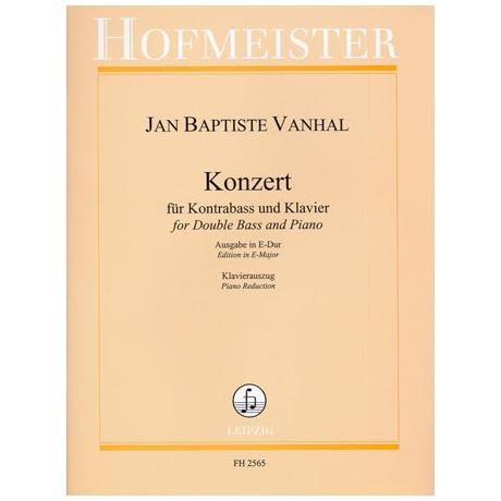 Vanhal, J. B.: Konzert E-Dur