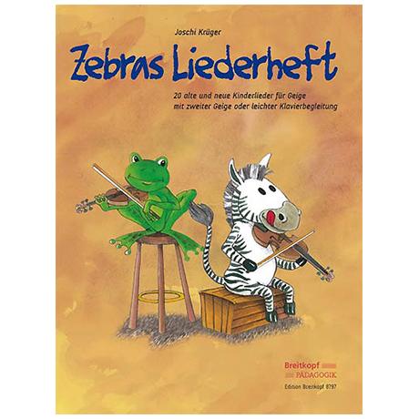 Zebras Liederheft (Joschi Krüger)