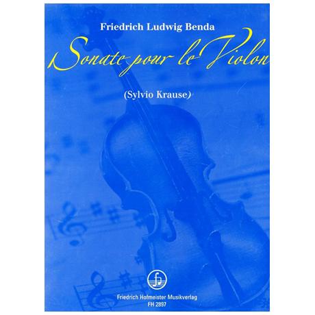 Benda, F. L.: Sonate pour le Violon
