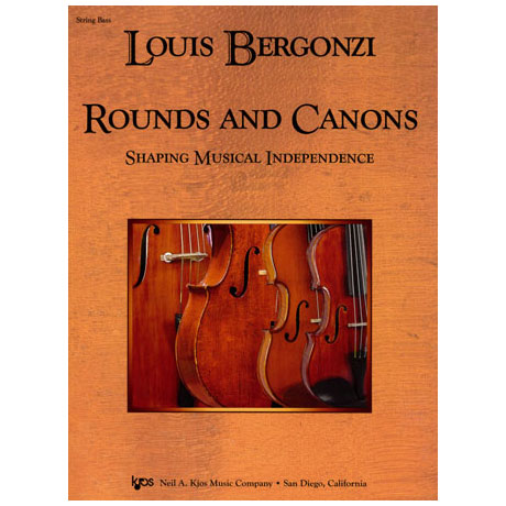 Bergonzi: Rounds And Canons