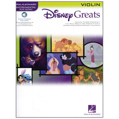 Disney Greats – Violin (+Online Audio)