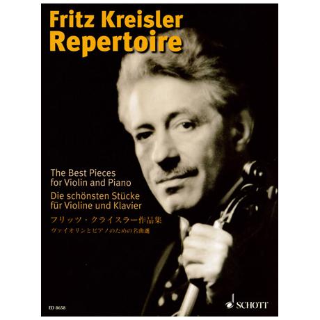 Fritz Kreisler Repertoire - Die schönsten Stücke Band 1