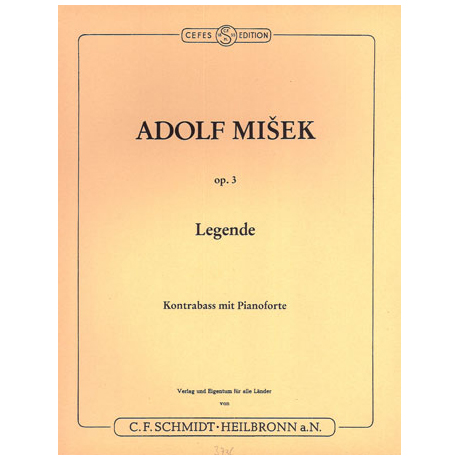 Misek, A.: Legende Op. 3